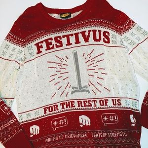 Seinfeld Christmas Sweater L